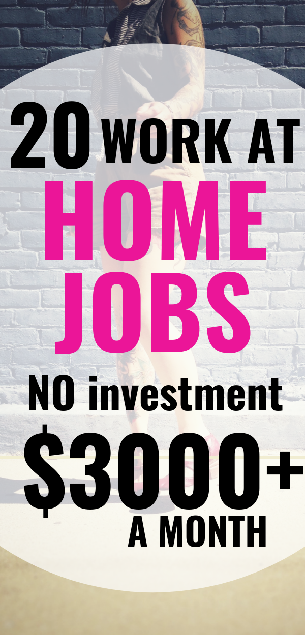 50 Work From Home Jobs That Pay Well In 2020 5000 Mo And Up