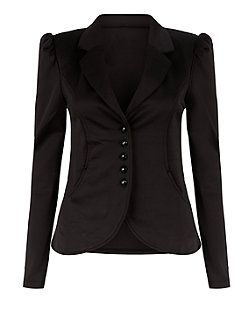 066667194 Blue Vanilla Black Puff Sleeve Blazer | New Look | ~ my sʈyle ...