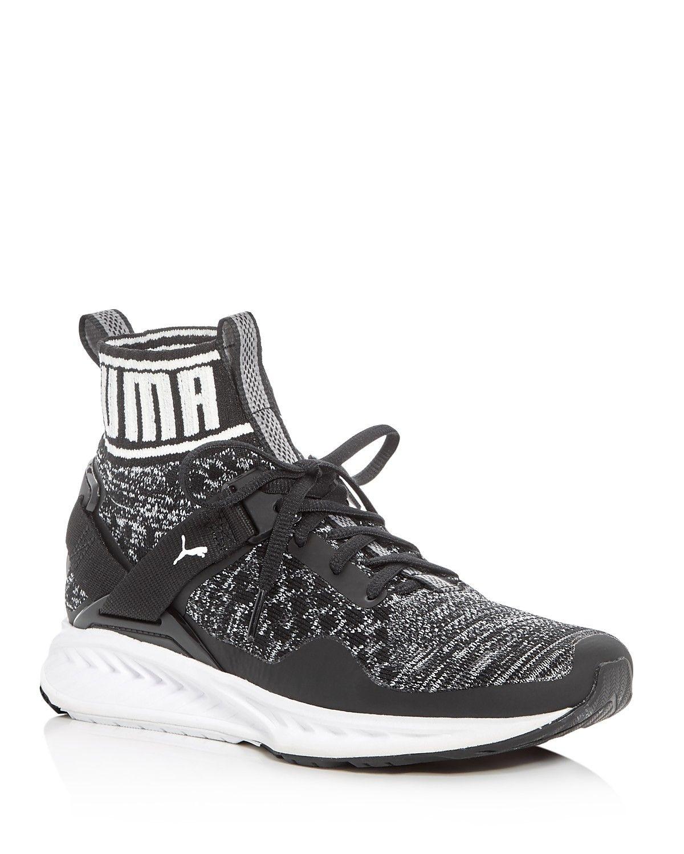 PUMA Women s Ignite Evoknit High Top Sneakers  73ec0d334