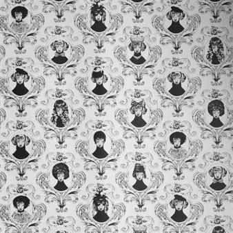 Ruotsalainen muotoilija Lisa Bengtsson on suunnitellut fantastisen tapetin, jossa on herttainen Tillsammans-kuvio. Saatavana eri väreissä.