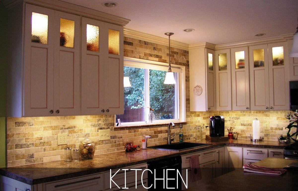Pictures Decoration Above Kitchen Cabinet Idea Jpg 1200 768 Above Kitchen Cabinets Inside Kitchen Cabinets Light Kitchen Cabinets