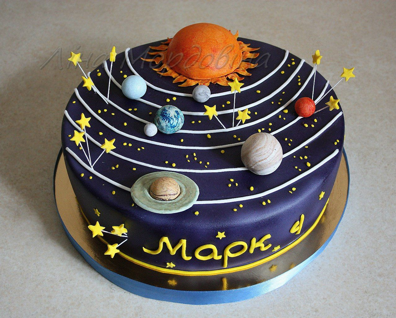 Space Bday Ideas