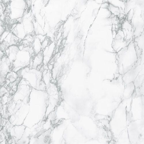 Fablon Light Grey White Marble Sticky Back Plastic Self Adhesive Vinyl Film