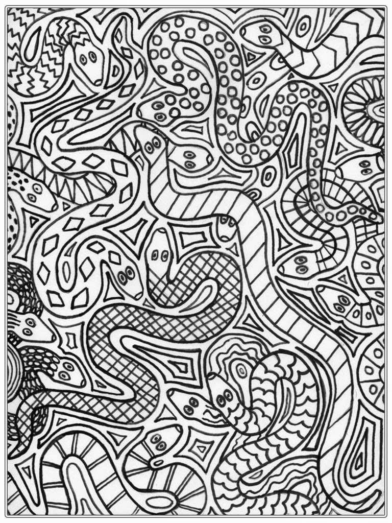 snake coloring pages Google Search Coloring Snakes