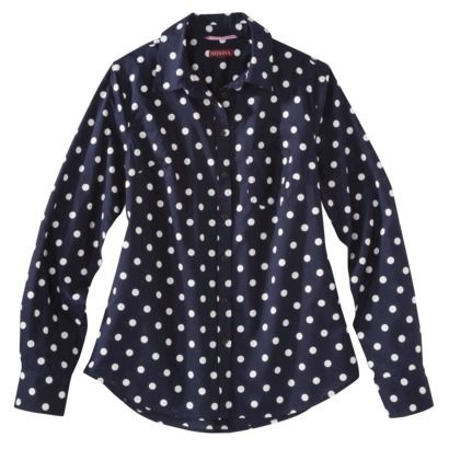 I don't have any polka dot shirt yet? hummm Merona® Women's ...