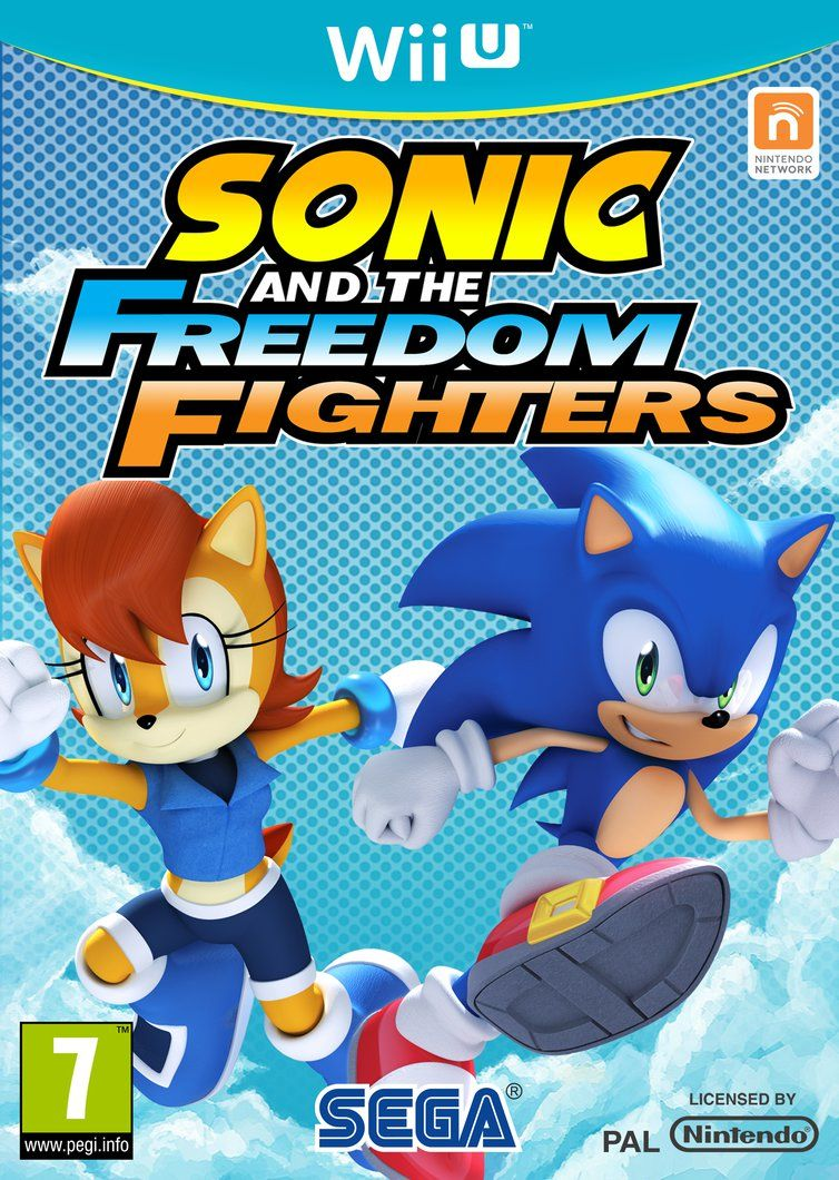 Sonic And The Freedom Fighters By Sonicguru On Deviantart Sonic Freedom Fighters Sonic Franchise