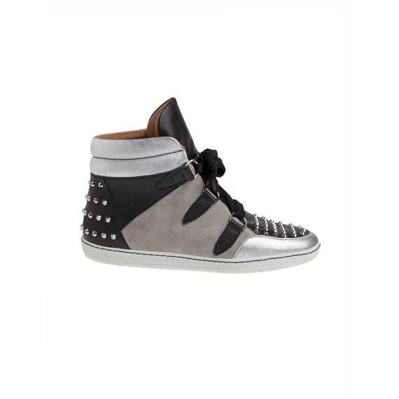 5828c87d090c Baskets Albatorock Argent - Chaussures Sandro - E-Boutique Officielle SANDRO    Collection Automne-Hiver 2012 SANDRO