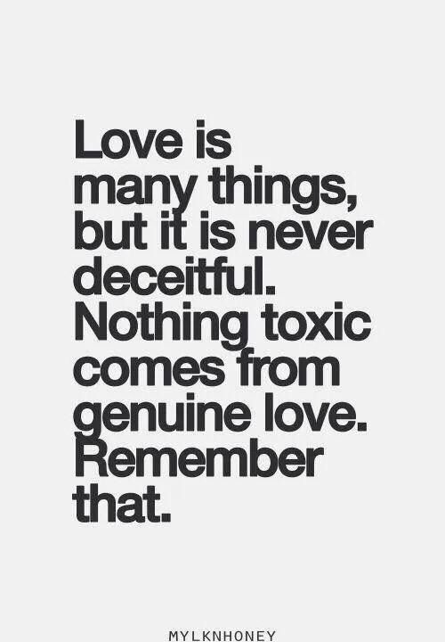 You don't know what love is.