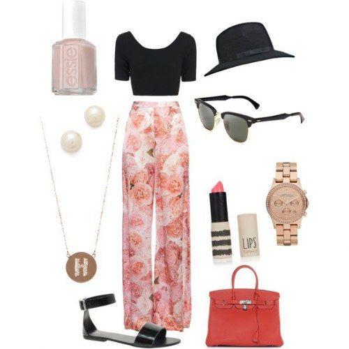 10 maneras de llevar tus #pantalones palazzo #outfit