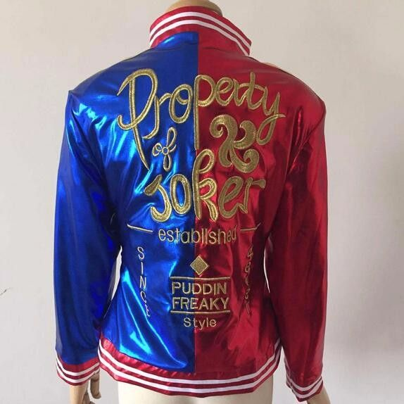 Harley Quinn Suicide Squad Jacket - free shipping worldwide
