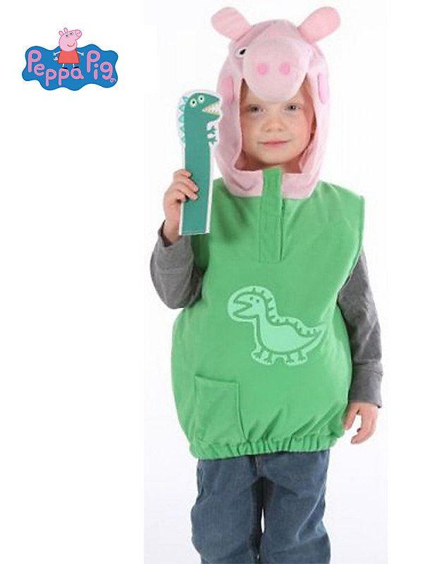 Opentip Peppa Pig\u0027s George Toddler Costume Zebulon - halloween costume ideas 2016 kids