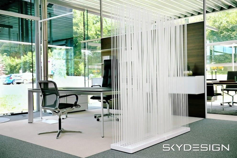 Moderne Sichtschutz Raumteiler fürs Büro, Wohnzimmer, oder