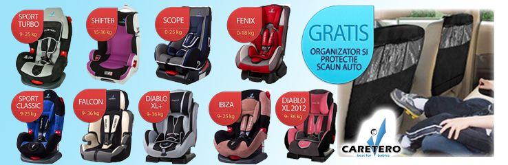 Fiecare scaun auto de la Caretero beneficiaza gratuit de o husa organizator din partea Elfbebe! Click pentru detalii =>>http://bit.ly/11qjpHB