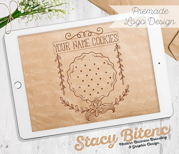 Cookie Logo with Business Branding Set by StacyBGraphicDesign