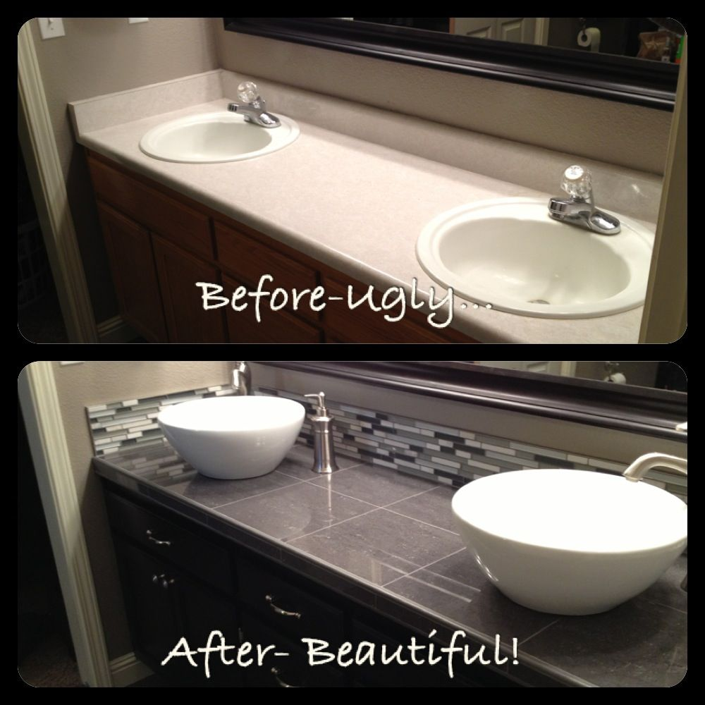 Bathroom Vanity Update Our Home Pinterest Vanities Bathroom Vanities And Bathroom