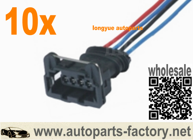 long yue 4 way sealed connector pigtail wiring harness