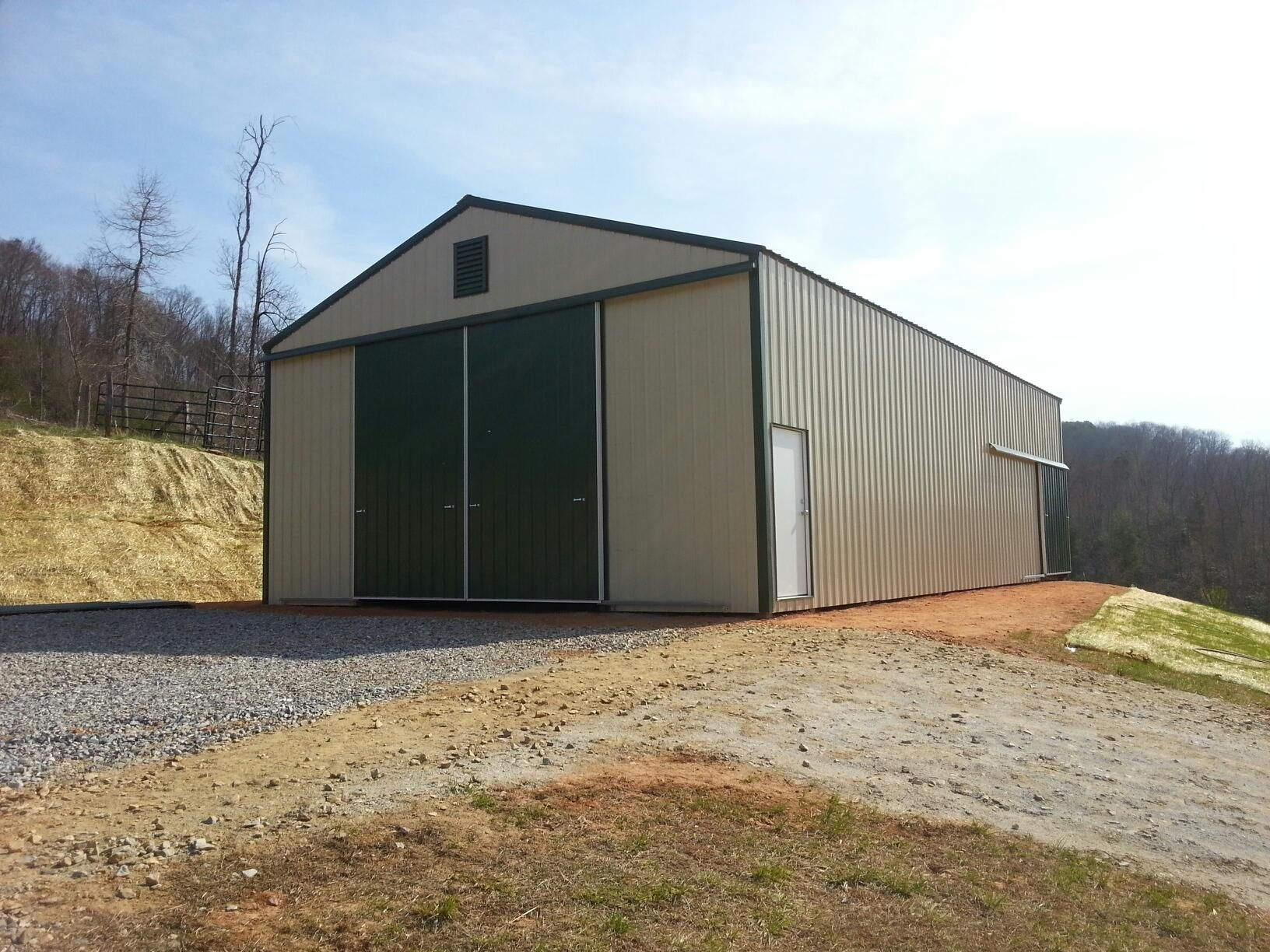 30x50x14 pole barn national barn for Horse pole barn
