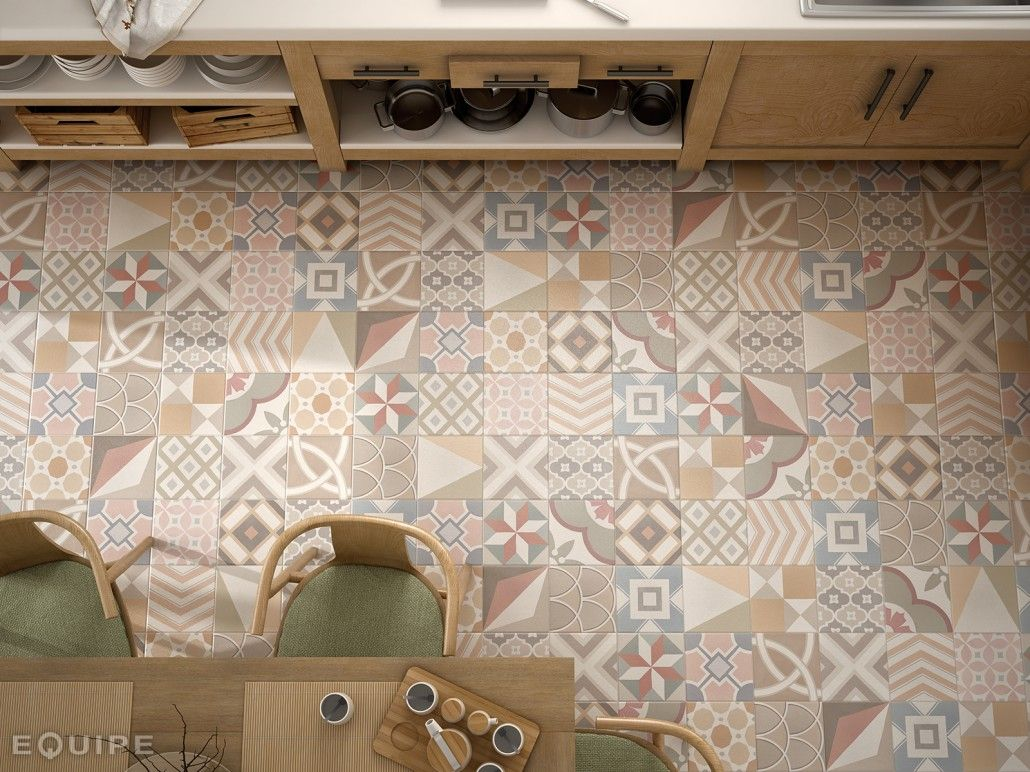 Equipe ceramicas caprice deco home pinterest floor tile discover all the information about the product bathroom tile floor ceramic geometric pattern caprice deco nais dailygadgetfo Gallery