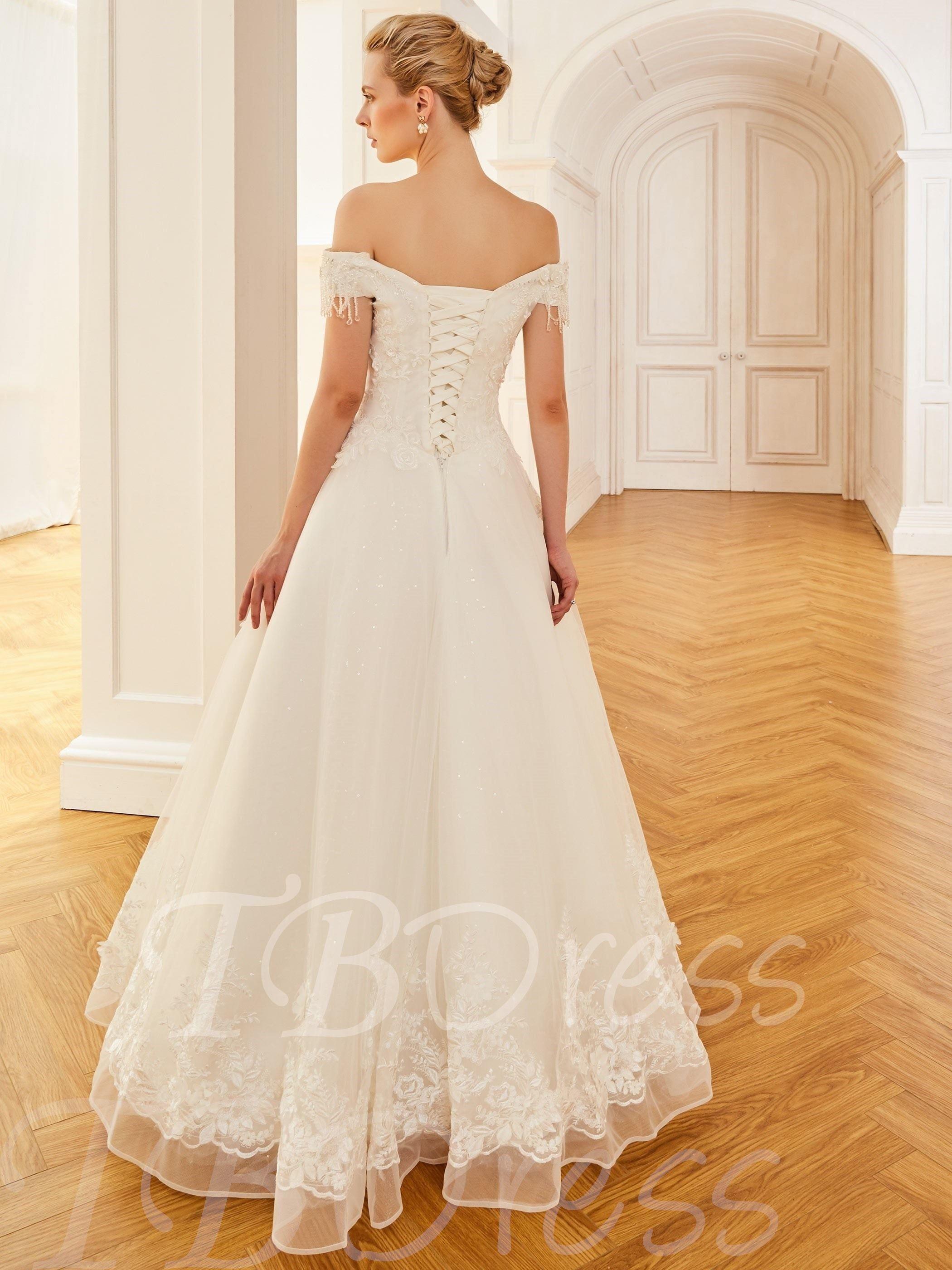 Cap Sleeves Beading Appliques Wedding Dress Wedding Dresses Summer Wedding Dress Wedding Dress Inspiration [ 2800 x 2100 Pixel ]