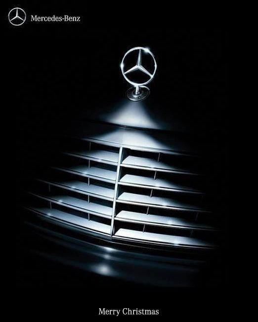 #Christmas #advertising #Mercedes-Benz #ArtDirection #marketing #design #ads