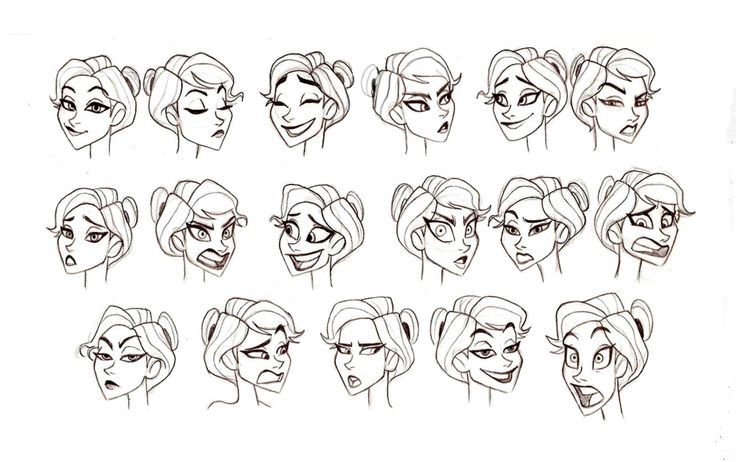 Character Design Faces Females Character Design References Character Design Character Design Tips