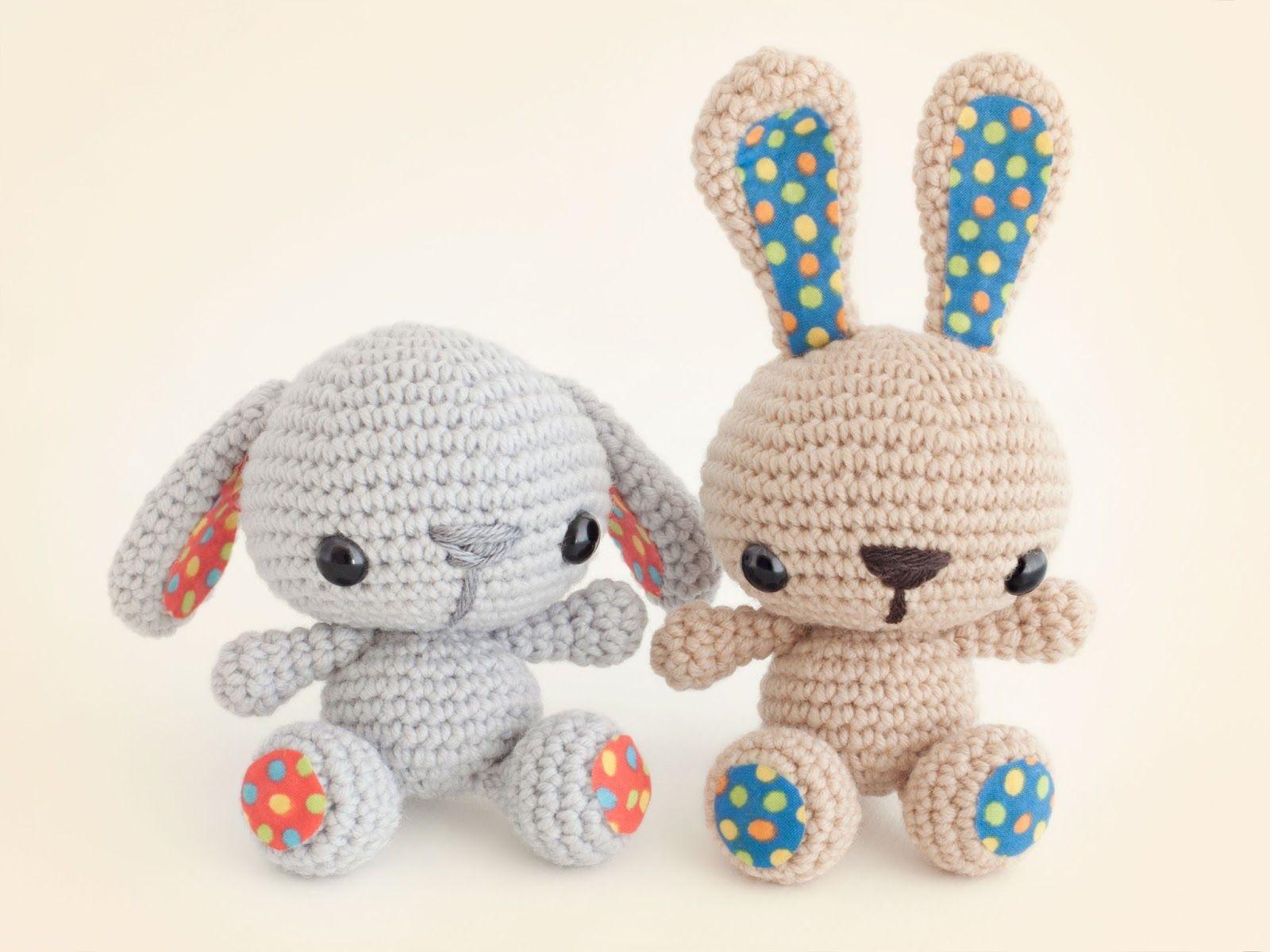 Amigurumi Bunny - FREE Crochet Pattern / Tutorial | Haken ...