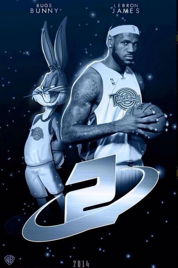 Lebron James To Star In Space Jam Sequel Space Jam Lebron James Full Movies