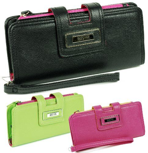 Kenneth Cole Reaction Women`s Clutch Style 893 Color Blocked