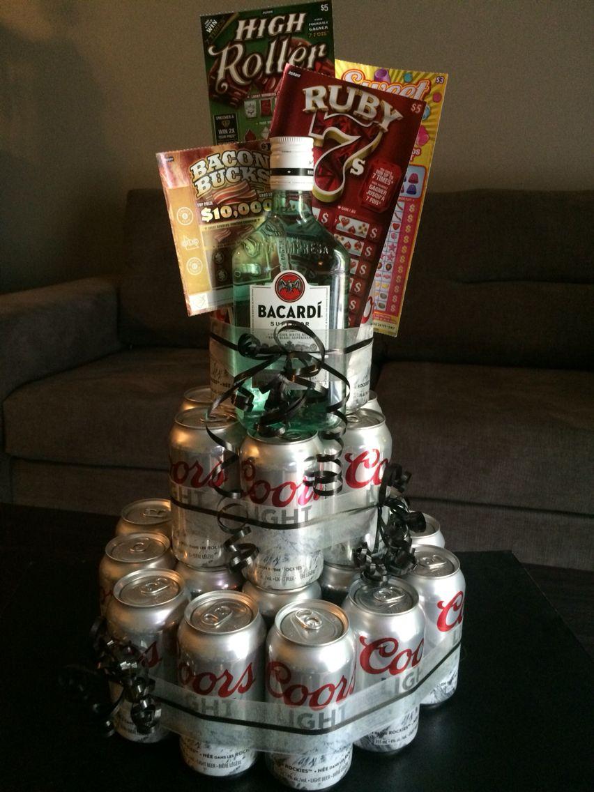 Manly birthday gift for someone turning 40! Birthday