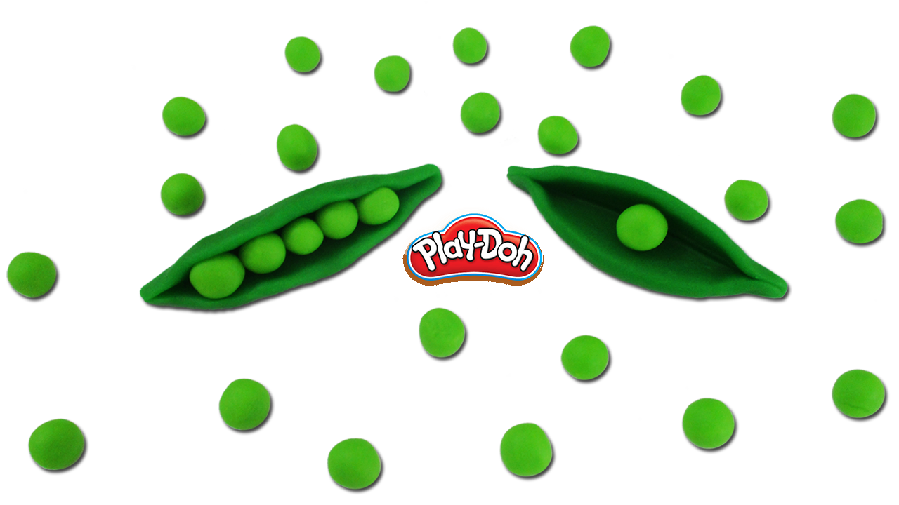 How To Make Play Doh Peas Vegetable Pea Vegetable Kids Vegetables Play Doh