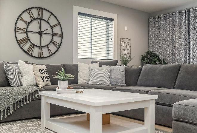 sherwin williams light french gray sw0055 grey paint color on basement wall paint colors id=34019
