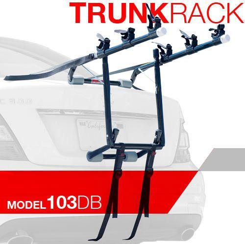 Allen Deluxe Three 3 Bike Trunk Mounted Carrier 103db Read