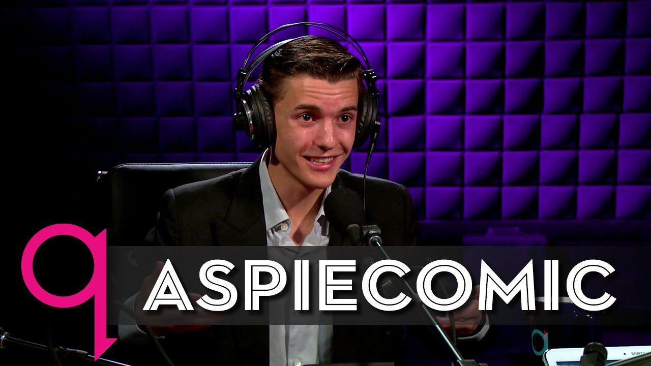 Aspiecomic Michael Mccreary In Studio Q Studio Q Michael Autism Spectrum Disorder