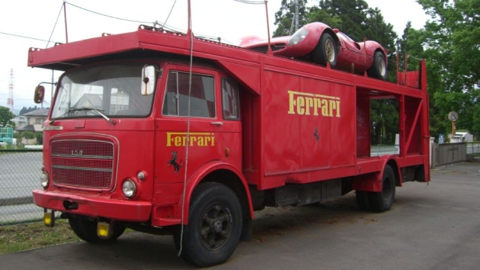 Ferrari Transporter For Sale, Could Possibly Be Turned Into Party ...