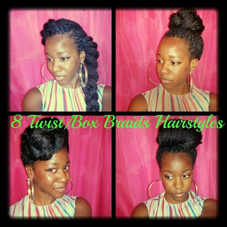 Hairstyles for Senegalese TwistsBox Braids pt3  Senegalese