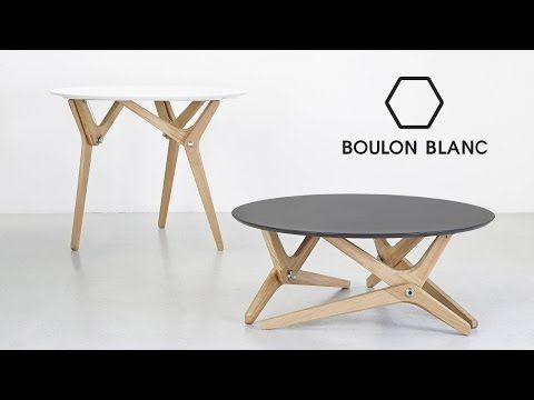 Table Modulable Basse Haute Par Boulon Blanc Notre Loft Youtube Coffee Table To Dining Table Adjustable Coffee Table Coffee Table