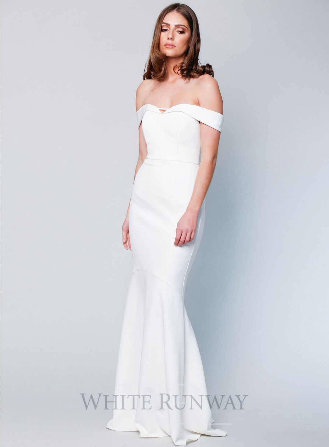 d7272520915 Exclusive Rosetta Gown. A gorgeous off-shoulder dress by Australian brand  Love Honor. The Rosetta Gown is crafted from a mid-weight stretch Crepe  fabric ...