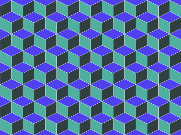 Cube Pattern - Repeatable Cube Pattern & Pattern Vector | Cubes ...