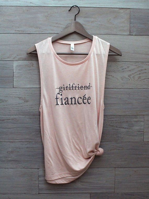 f740463f40701 girlfriend fiance shirt finacee shirt engaged AF by missFITTE Engagement  Proposal Ideas