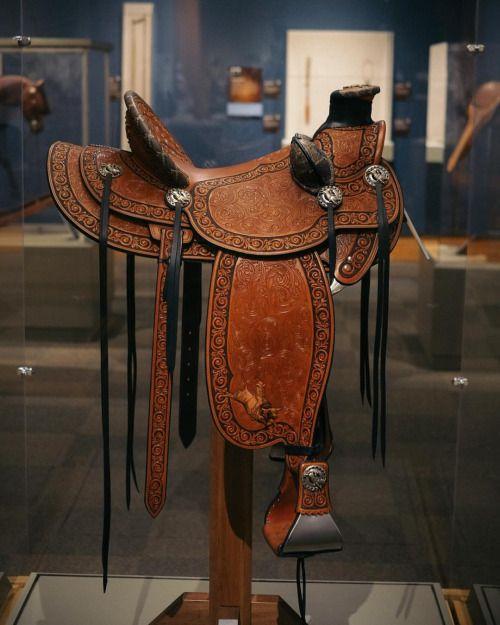 Rick Bean saddle. Beautiful.