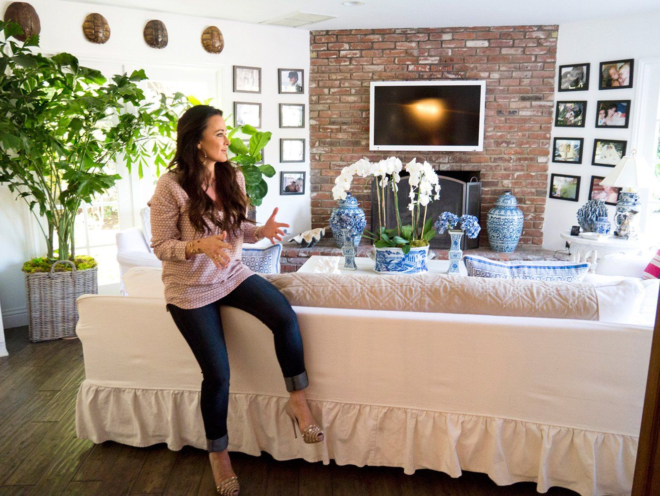 Best 25+ Kyle Richards House Ideas On Pinterest | Beach Style Ovens, Dream  Kitchens And Beautiful Kitchen