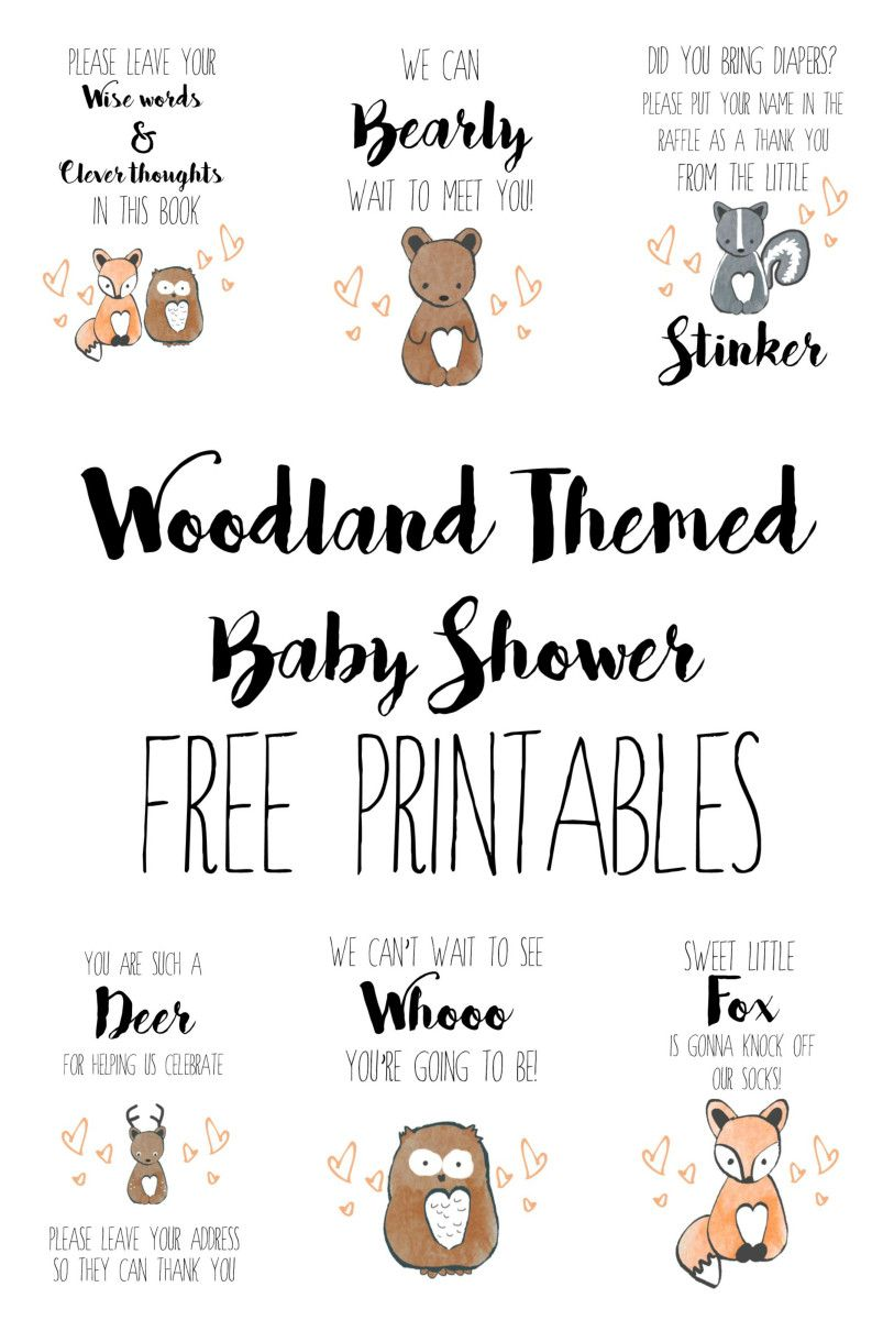 91 Free Printable Woodland Animals Coloring Pages