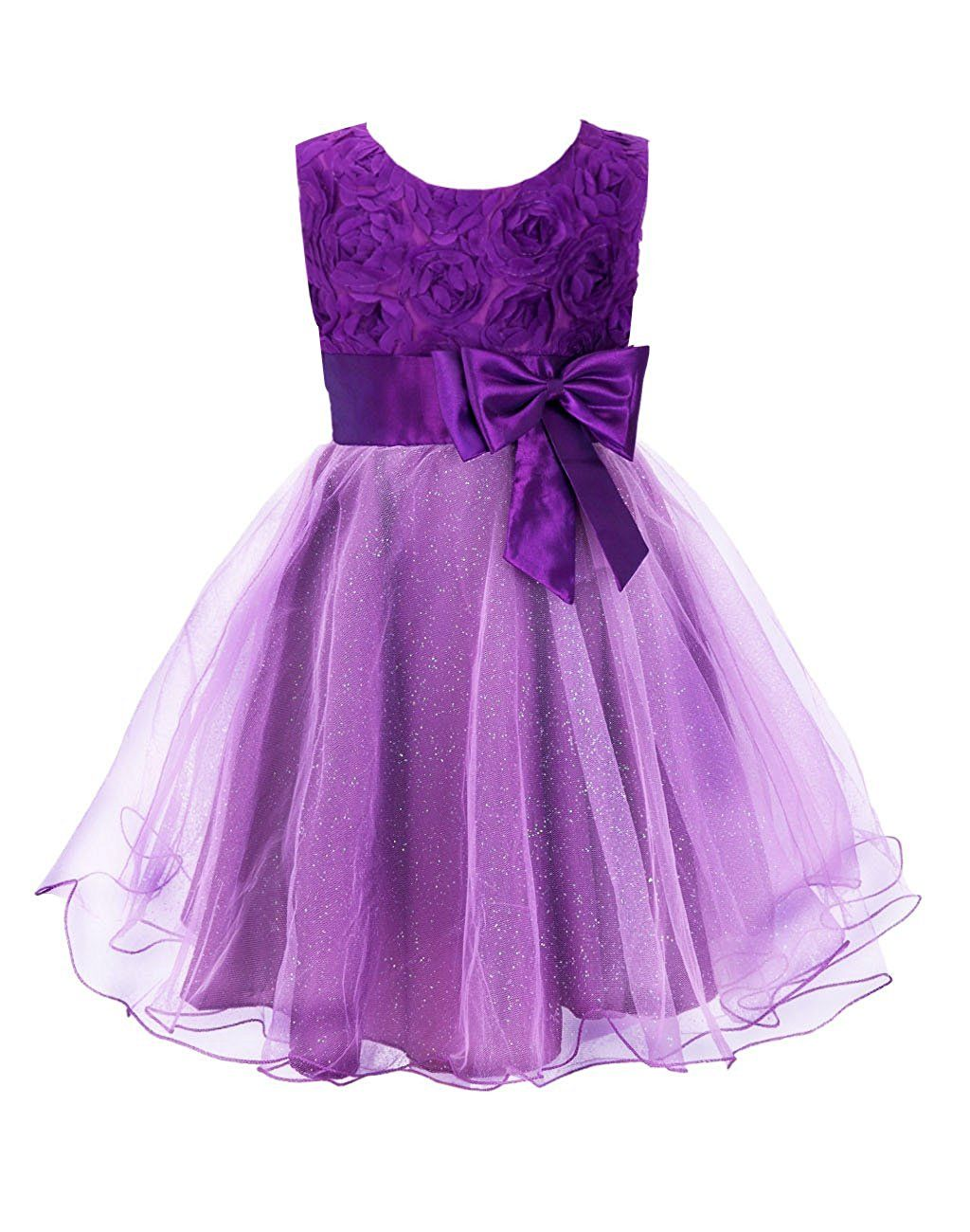Amazon colorful house girls d flower wedding bridesmaid party