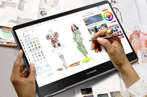 Samsung Notebook 9 Pro 2019 #touchscreendisplay 8th Generation Intel Core i7 8550U 1.8GHz, Boosts up to 4.0Ghz. 15.6 inches Full HD Touch Screen Display (1920 x 1080). 4GB DDR4 up to 16GB DDR4 RAM, 128GB SSD hard drive can upgraded to 1TB SSD. AMD Radeon 540 GPU with 2GB DDR5 memory. Stylus pen. MicroSD card reader. #touchscreendisplay Samsung Notebook 9 Pro 2019 #touchscreendisplay 8th Generation Intel Core i7 8550U 1.8GHz, Boosts up to 4.0Ghz. 15.6 inches Full HD Touch Screen Display (1920 x 1 #touchscreendisplay