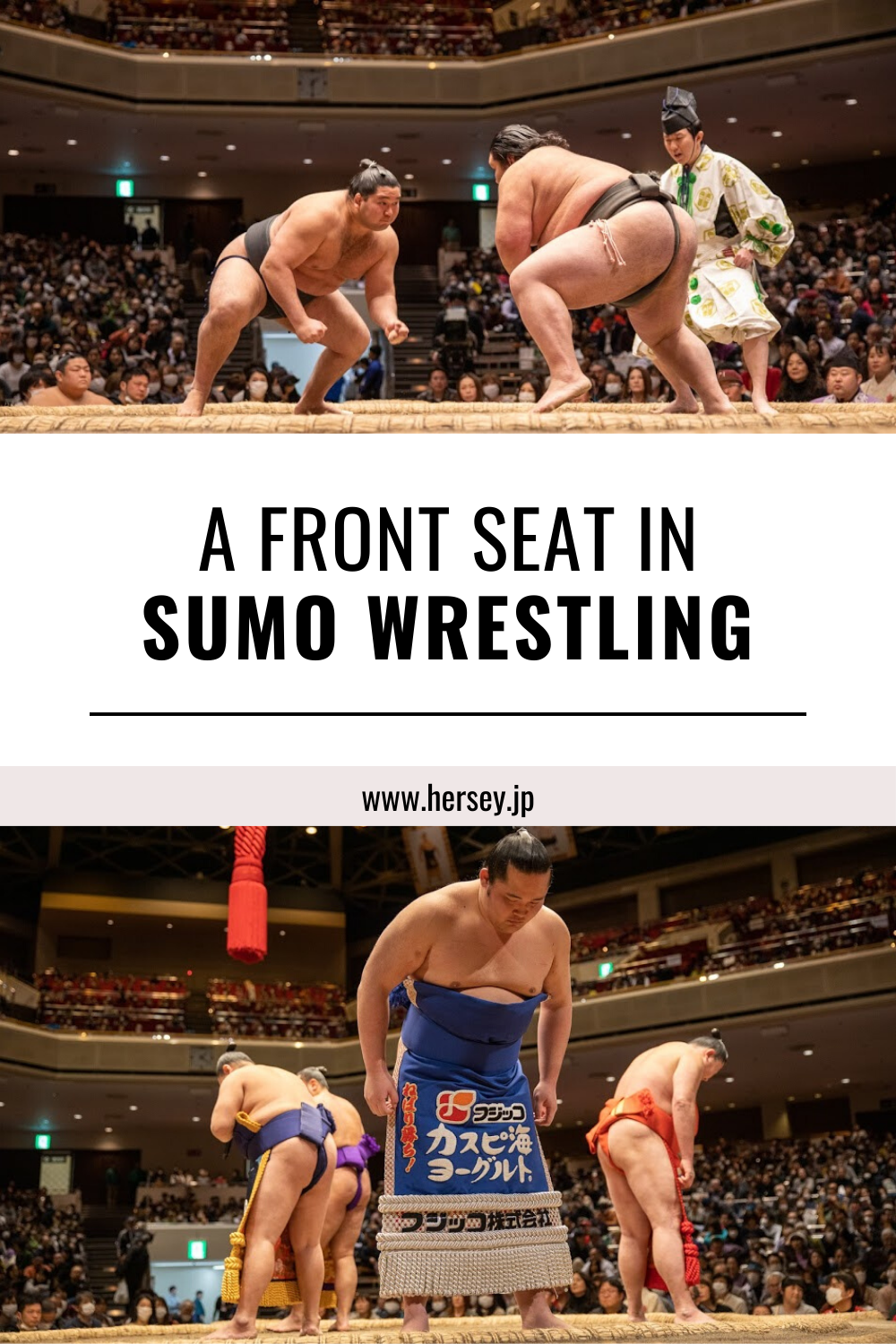 We got some exclusive front row seats at a sumo wrestling show and here are a few of the amazing things we learned about sumo wrestling – I hope these will encourage you to go and see a tournament yourself!  #sumowrestling #japansport  #japaneseculture #rikishi #Kokugikan #businesstraveller #businesstravel #millionaire #millionairelifestyle #billionairelifestyle #luxurylifestyle #businesswoman #businessman #luxurytravel #travelandleisure #tokyo #tokyotravel #japaneseculture #viptravel