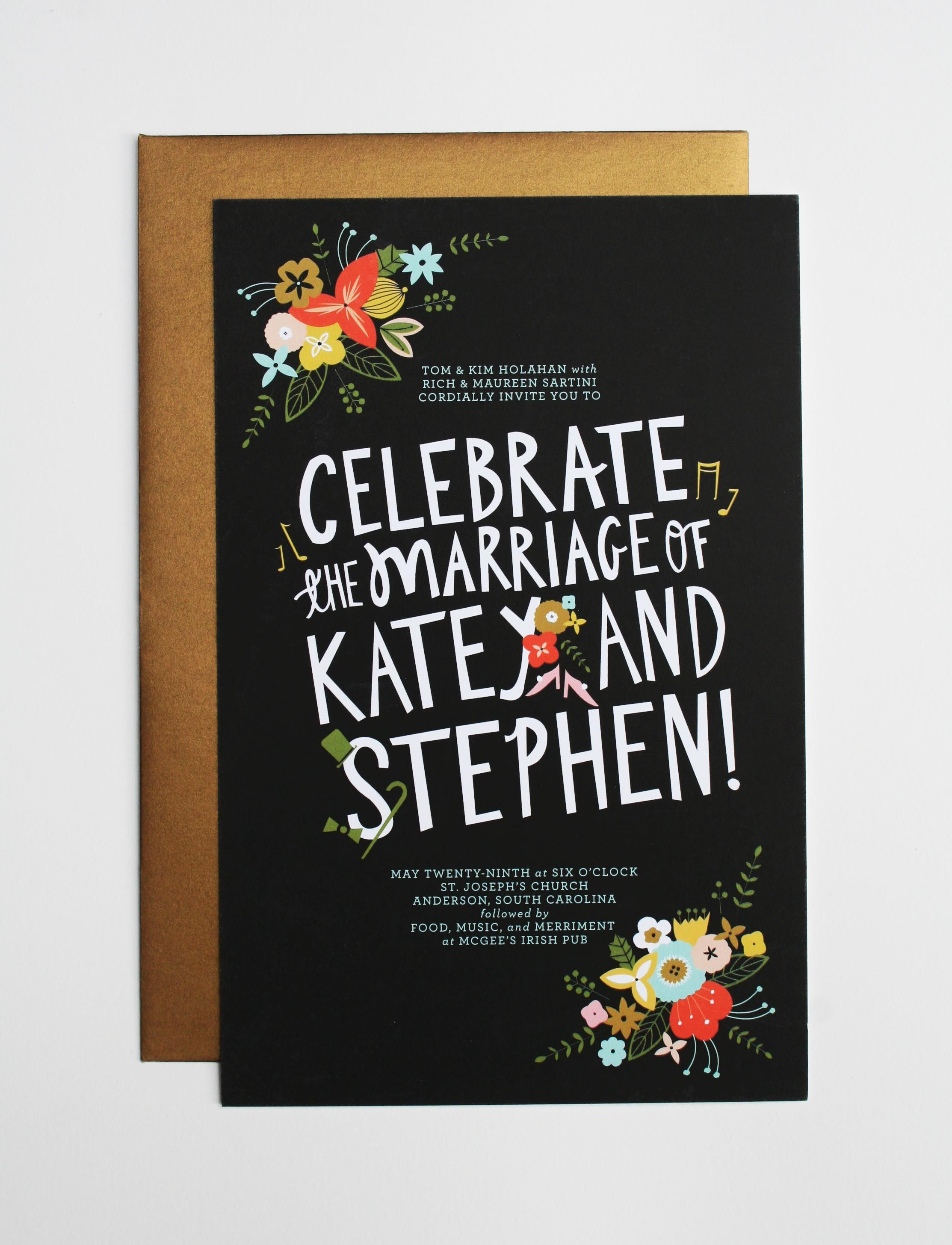 Wording ideas for Canadian reception invites Formal