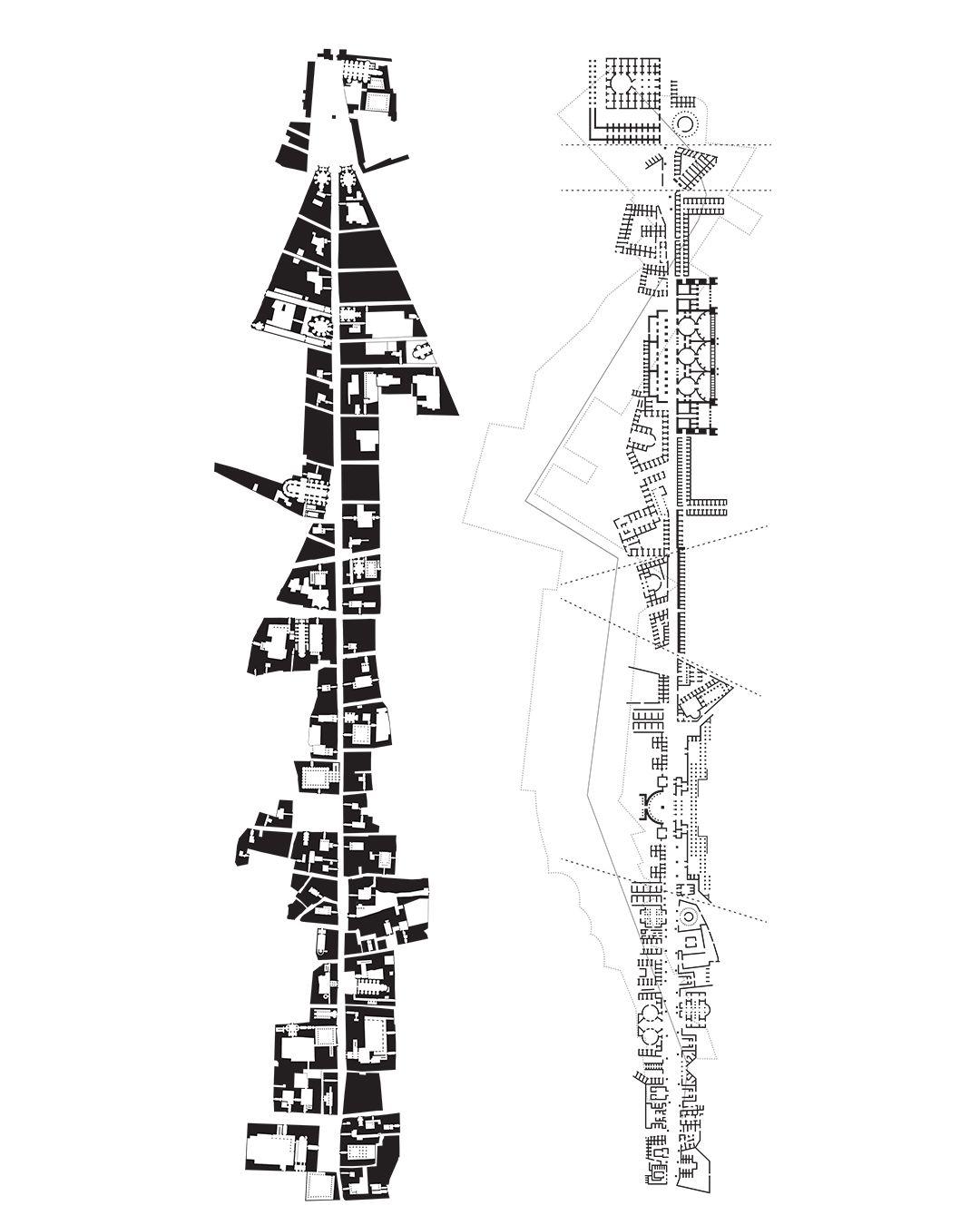 Foco Archive Formalysis Of Nolli And Piranesi Rome
