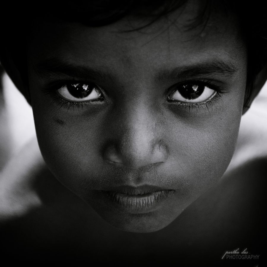 Those Eyes By Partha Das Huge Eyes Eyes Face