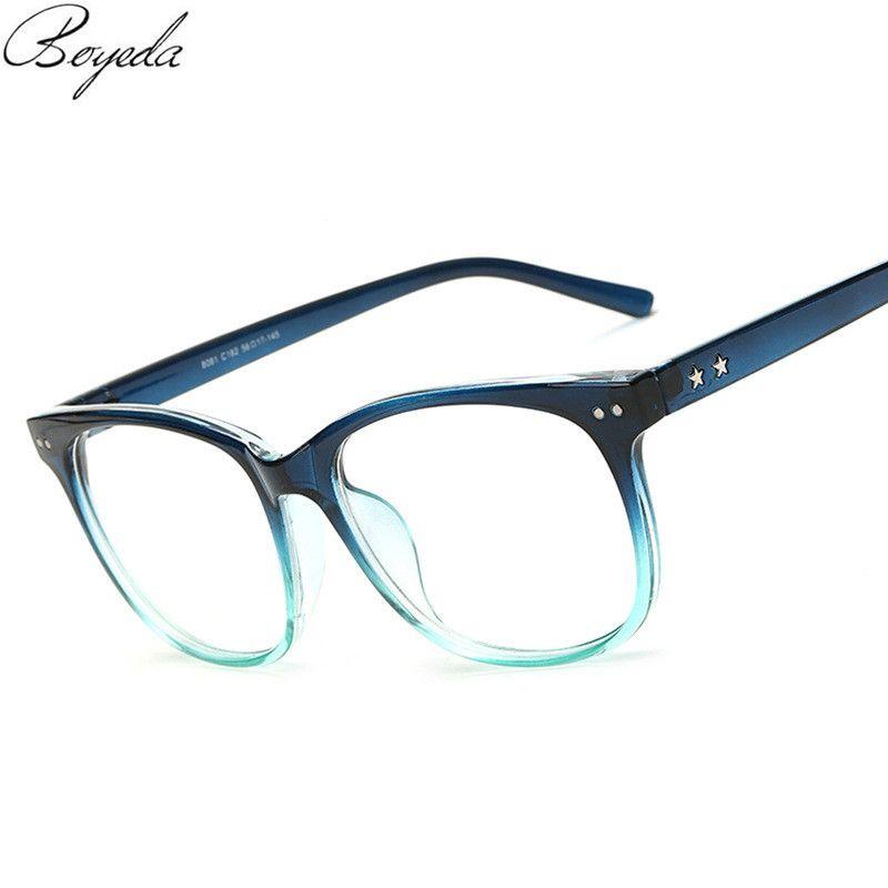 Vintage Classic Round Eyewear Frames Eyeglasses Degree Optical ...