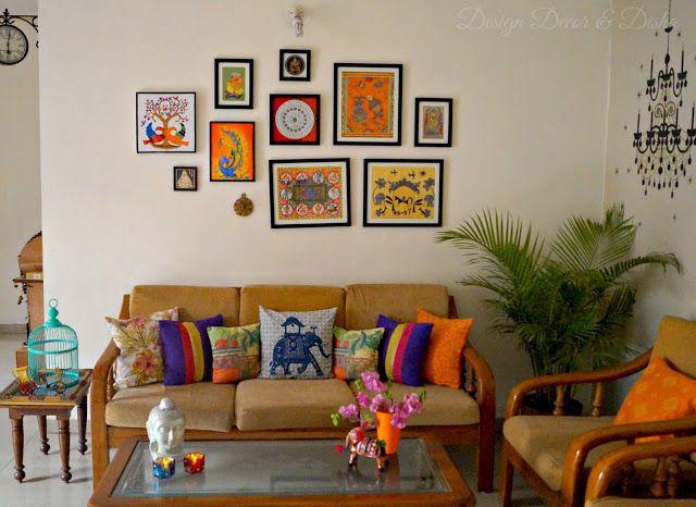 Design Decor Disha Indian Art Gallery Wall Reveal Art Deco Living Room Indian Wall Decor Art Deco Living Room Furniture